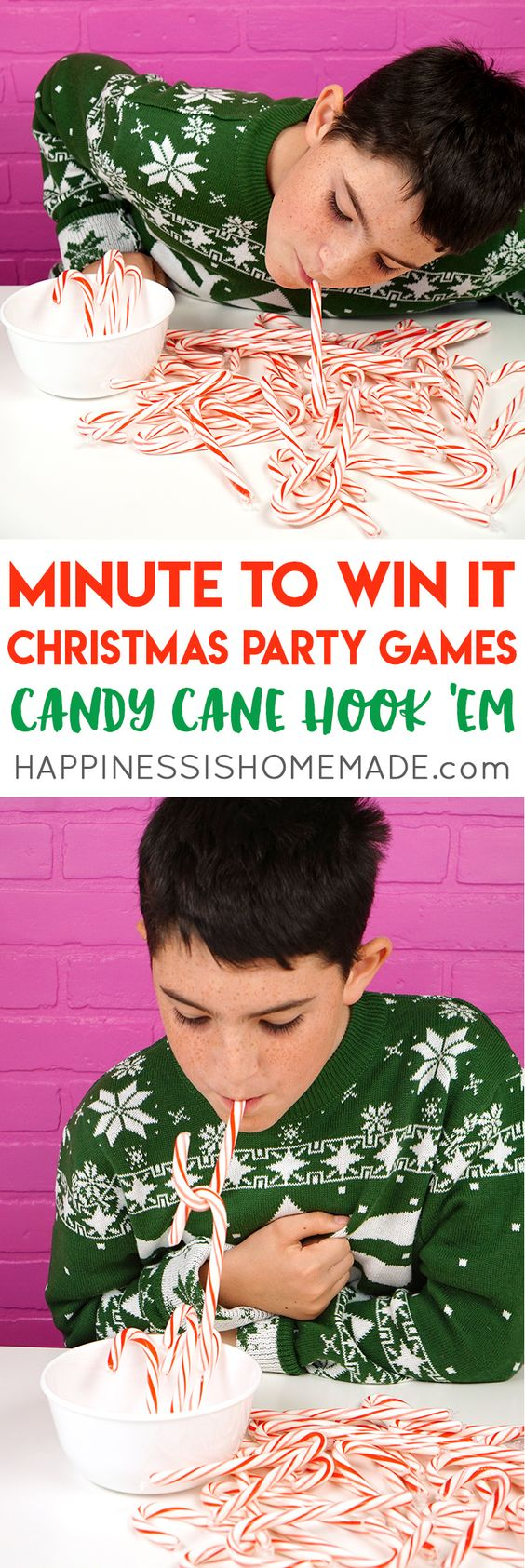 Add some fun to your Christmas party with these simple festive games that the whole family is going to love!