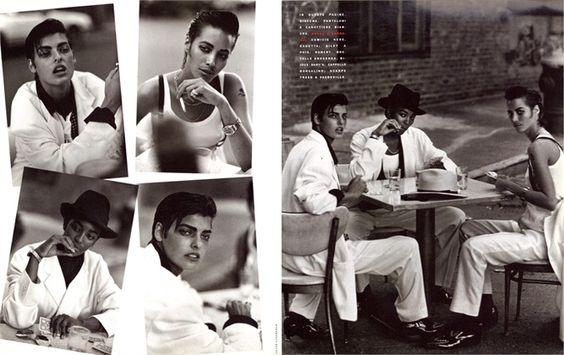 Vogue Italy, February 1991