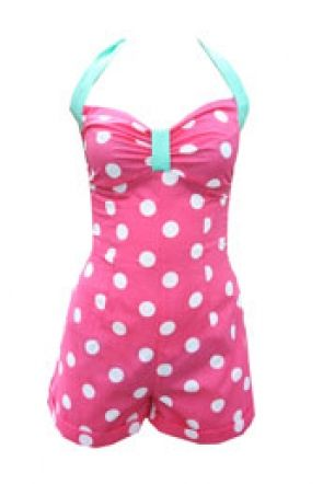 Tara Starlet | Polka-Dot Play-Suit
