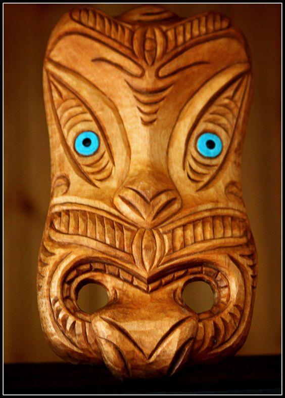 maori and masks on pinterest. Black Bedroom Furniture Sets. Home Design Ideas