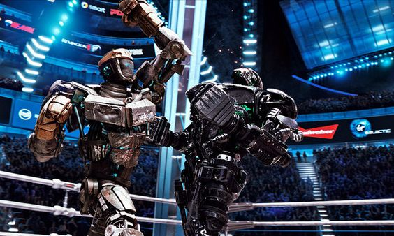 'Real Steel,' a Tale of Robot Boxers -