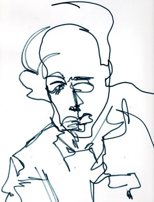 Contour Line Drawings By Famous Artists : Pinterest the world s catalog of ideas