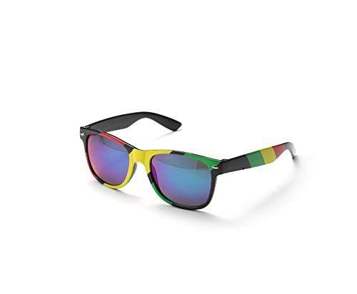 Komonee Rasta Drifter Style Gafas De Sol UV400 Proteccion Unisexo