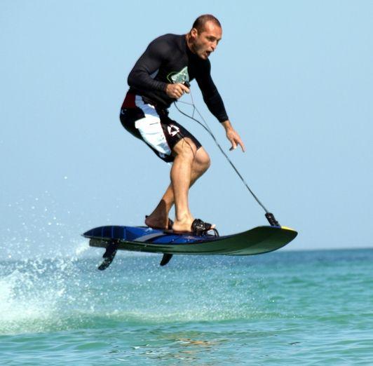 modernes brett motor surfbrett design jetsurf