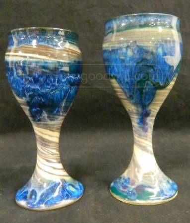 Blue Artisan's Goblets
