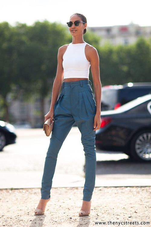 best we have another look at that corker of an outfit #JoanSmalls. #offduty in Paris.