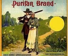Puritan Brand Label - Rialto, CA  (Bing Images)