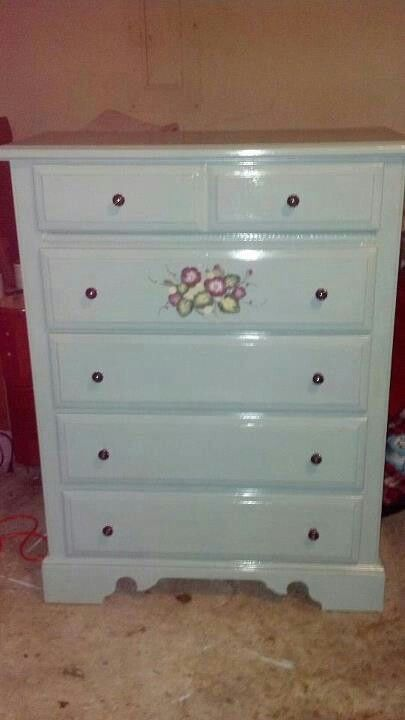 Dresser after pic. Done by refinished@last.