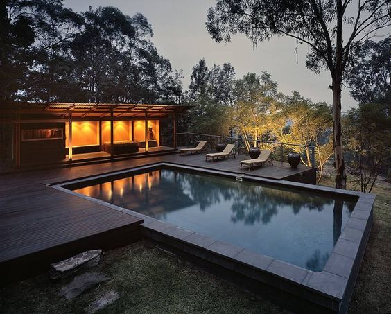 Bowen Mountain Bush Retreat, Bowen Mountain, Australia - A project by: CplusC Architectural Workshop
