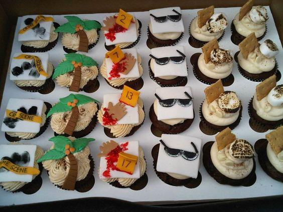 CSI: Miami Cupcakes