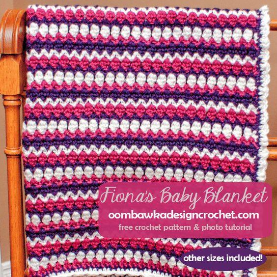 Free Baby Crochet Blanket Pattern - Fiona\'s Baby Blanket ...