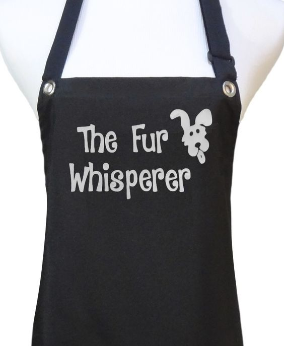 New Dog Grooming Aprons Available From Trendy Salon
