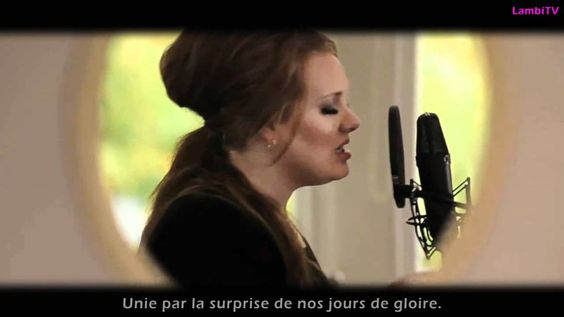 Adele - Someone Like you (Traduction Française 1080HD).