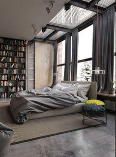 industrial bedroom - Google Search