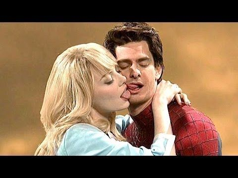 Amazing Spiderman Funny Kissing Hd With Images Amazing