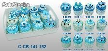 Set de 12 cajas Cupcakes pastelito + Display