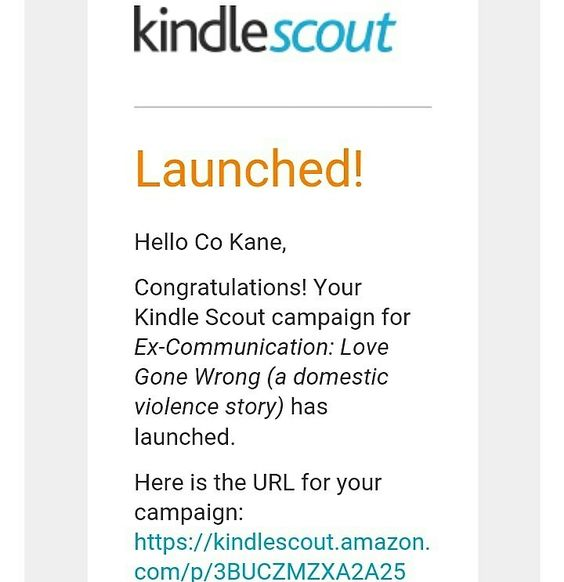 Have you voted? VOTING IS OPEN!! Ex-Communication:Love Story Gone Wrong (a Domestic Violence Story