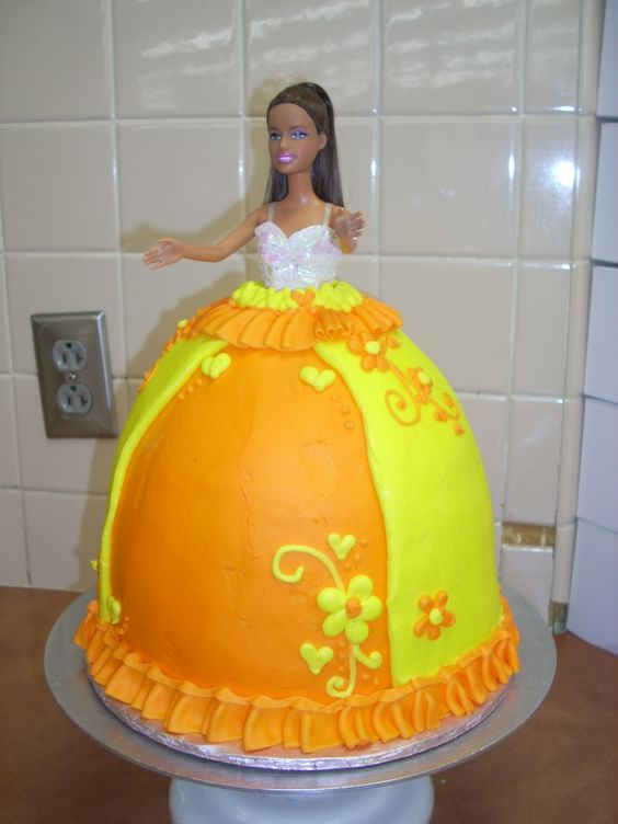 a barbie cake of my creation