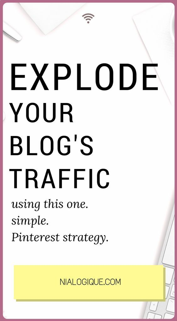 How To Grow Your Website's Traffic With This One Simple Pinterest Strategy | Learn how to increase your blog and business's monthly users using the powerful combination of Pinterest and Tailwind. This strategy gives you the ability to gain more exposure, increase your sales, and save you loads of time. Click through the image to find out more!