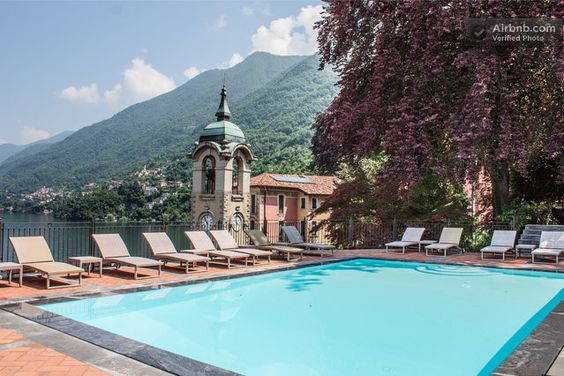 Stunning Views and Swimming Pool · Via alle Rive, faggeto lario, Lombardia 22020, Itália