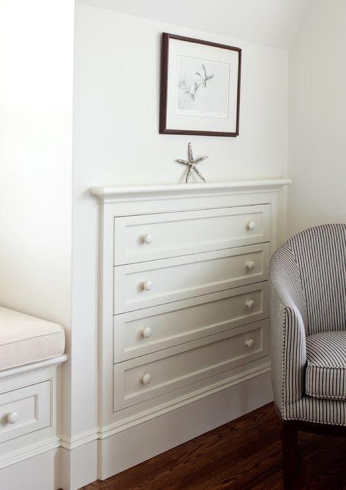Drawer Unit Built Ins And Built In Dresser On Pinterest