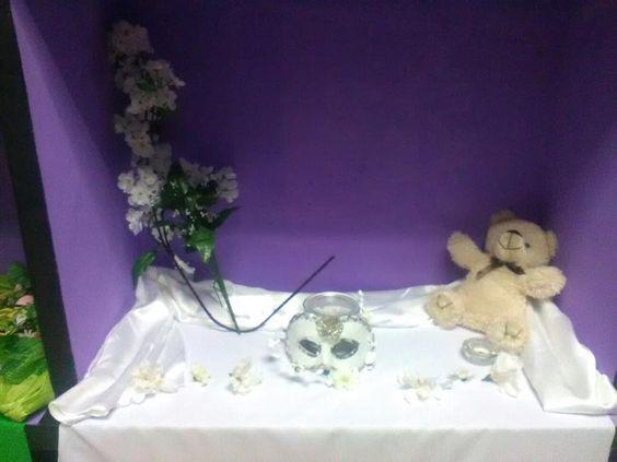 Mini-altar de Imbolc Septiembre 2016