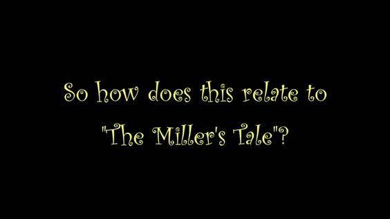 """Winter 2013 cohort member Vone's video on """"The Miller's Tale"""" from Chaucer's Canterbury Tales."""