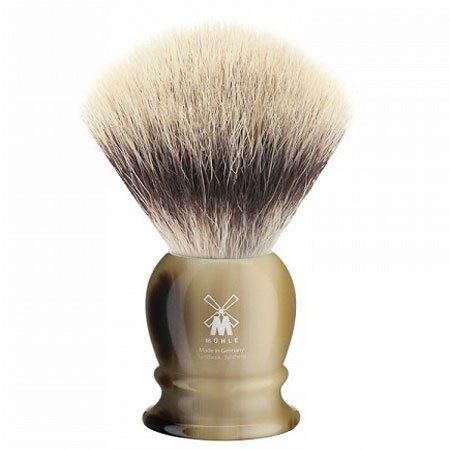 Muhle Horn Synthetic Fibre Silvertip Shaving Brush (Medium) Muhle http://www.amazon.co.uk/dp/B008BGMA0S/ref=cm_sw_r_pi_dp_71FJtb0JG3YD3C80