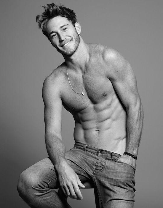 Masculine Hunk Rodrigo Calazans