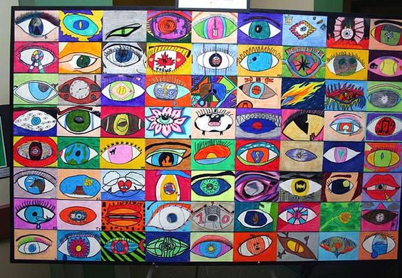 Surrealism eyes group work: Surrealism Eye, Idea, Eye Project, Eye Shapes, Artroom, Photo, Group Projects, Art Projects