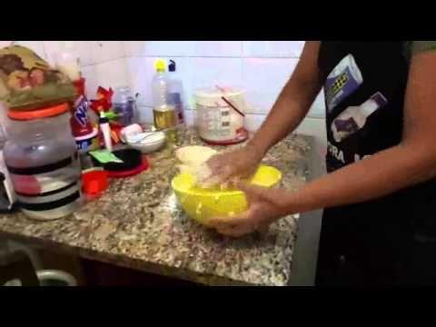 ArtCook - Na Cozinha da Cátia - Mini Pizza - passo a passo sem mistério - preparo da massa - YouTube