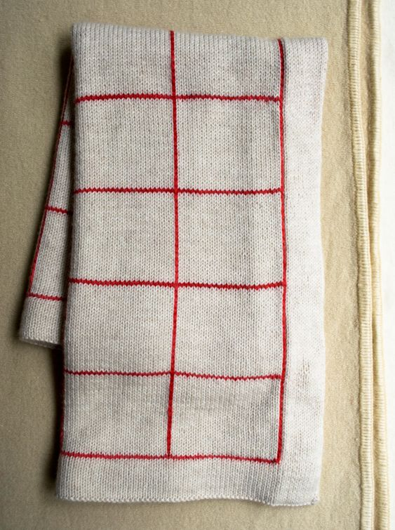 Knit And Purl Stitch Baby Blanket : How to crochet vertical stripes on knitting - the purl bee Lines + Squares Ba...