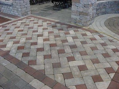 Rocks colors and the o 39 jays on pinterest for Diy brick floor