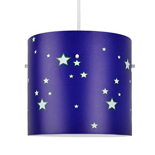 Boys Blue Outer Space Rocket Star Curtains - Nursery/Children's ...