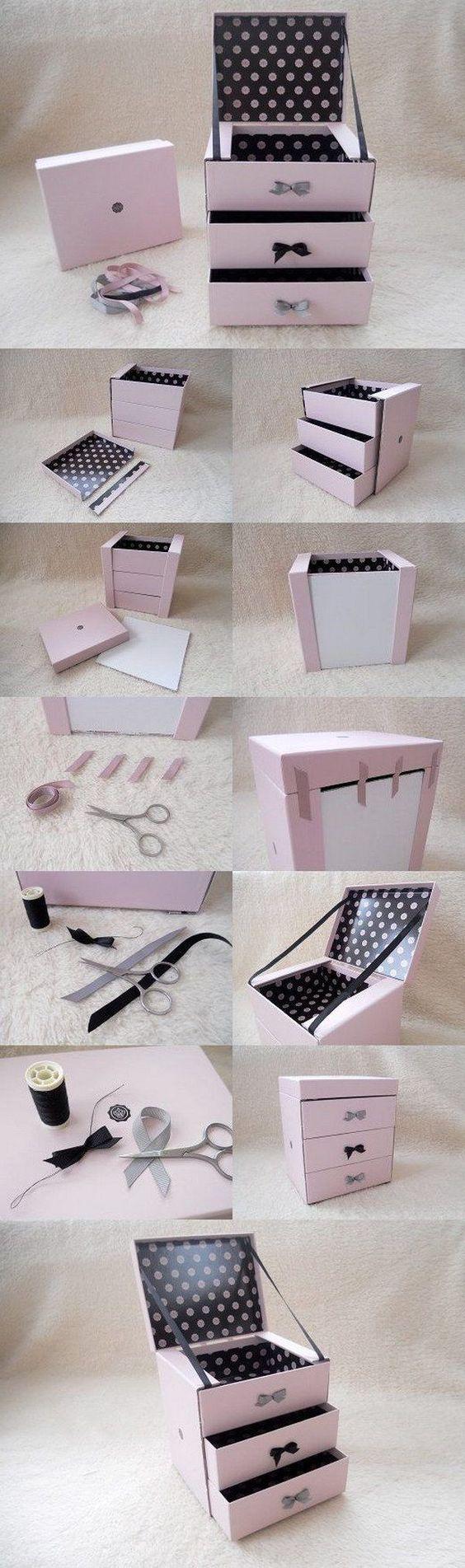 DIY Glossybox Jewellery Box: