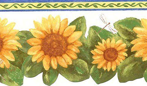 Wallpaper Designer Wallaper Wallpaper Borders Contact Paper Wall Paper Or Sale Today Floral Wallpaper Border Sunflower Wallpaper Dragonfly Wallpaper
