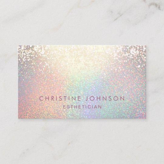 Faux Glitter Pattern Business Card Zazzle Com In 2021 Business Card Pattern Esthetician Business Cards Glitter Business Cards