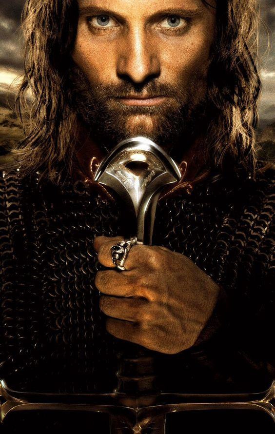 Lord of the rings, lol he looks so much like my dad.=]: