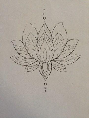Lotus tattoo. Thinking of getting it on my ribs