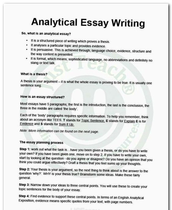 The Easiest Analytical Essay Guide Customwriting Writingguide Writing Custom Analitical