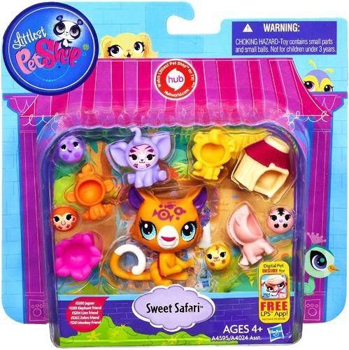 Littlest Pet Shop Sweet Safari Playset In 2020 Littlest Pet Shop