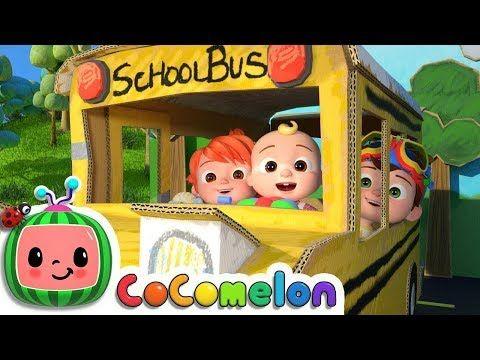 Wheels On The Bus 3 Cocomelon Nursery Rhymes Kids Songs