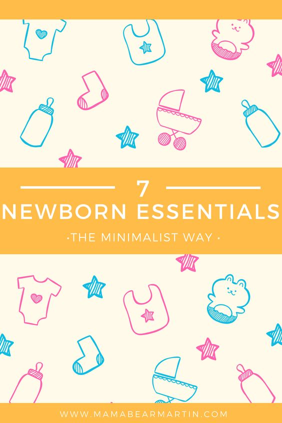 Newborn Essentials The Minimalist Way Bebè, Maternità e - newborn checklist