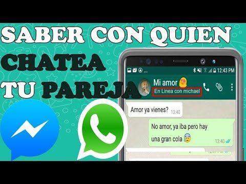Saber Con Quien Chatea Tu Pareja Por Messenger Y Whatsapp Resuelto Youtube In 2021 Rino Words Incoming Call Screenshot