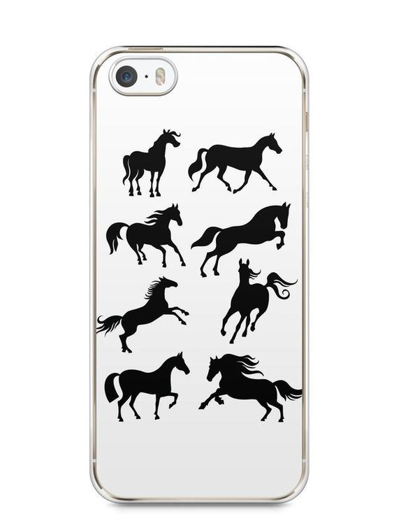 Capa Iphone 5/S Cavalos #2 - SmartCases - Acessórios para celulares e tablets :)