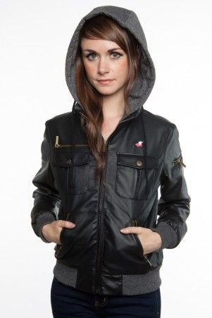 Glamour Kills Girls The Tay Bomber Jacket $79.99 | Love it