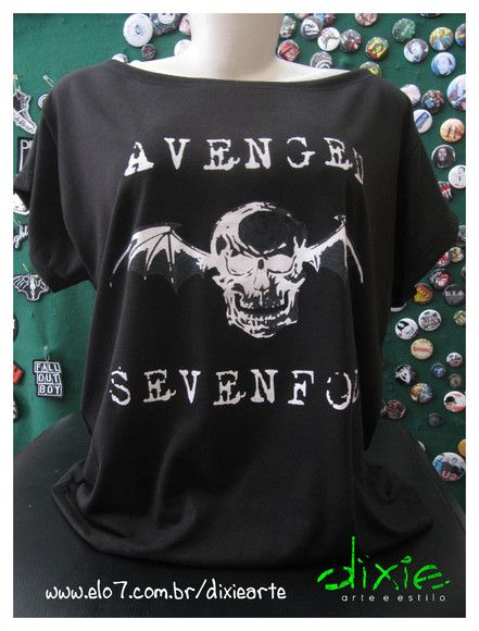Gola Canoa Avenged Sevenfold Tamanho único R$45,00