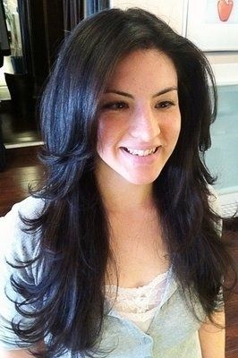Astounding Long Haircuts Long Layered And Loose Waves On Pinterest Short Hairstyles Gunalazisus