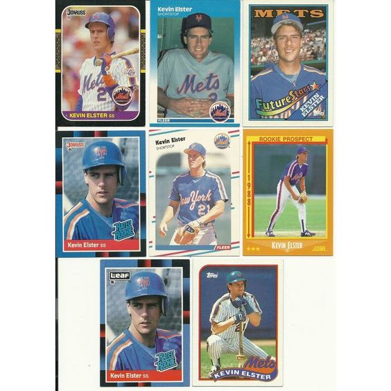 Huge lot of 35 + KEVIN ELSTER cards lot 2 RC 1987 - 1998 Mets Rangers Pirates Listing in the 1990-1999,Lots,MLB,Baseball,Sports Cards,Sport Memorabilia & Cards Category on eBid United States | 148346991