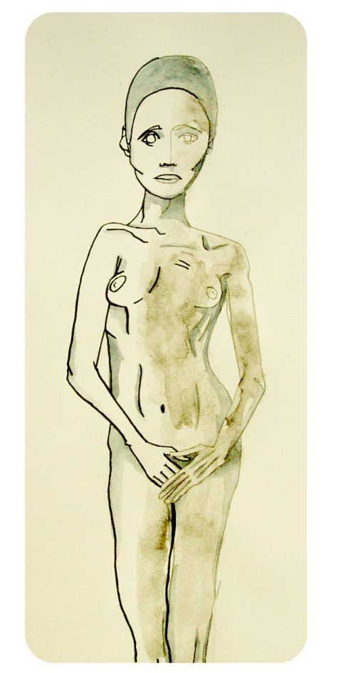 """Nackte Körper"". Raffaela Schöbitz"